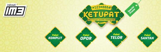 PAKET KETUPAT RAMADHAN *123*888# Promo Indosat Terbaru