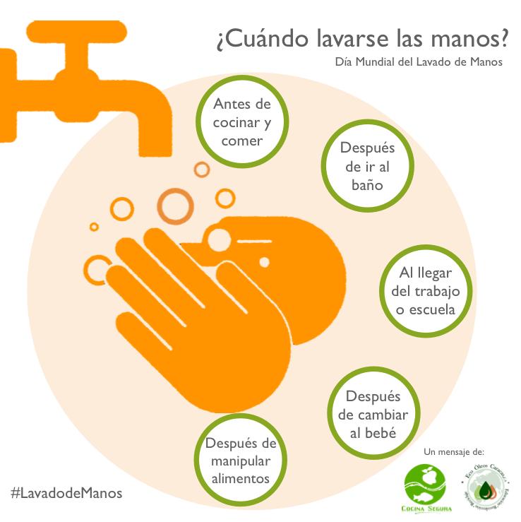 Cocina segura d a mundial del lavado de manos - Alimentos para ir al bano inmediatamente ...
