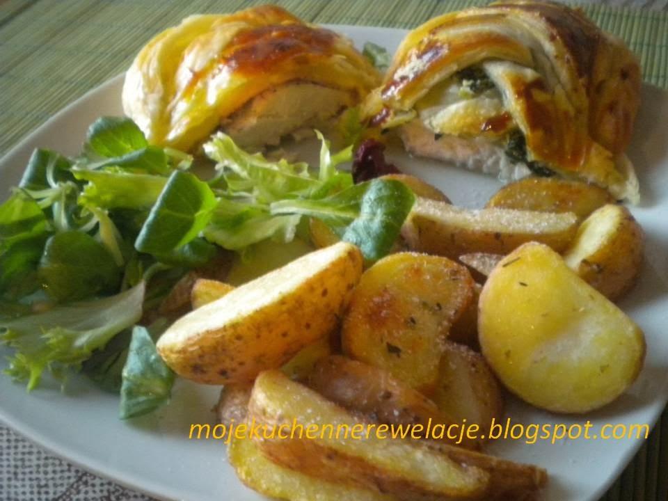 kurczak z szynką i serem