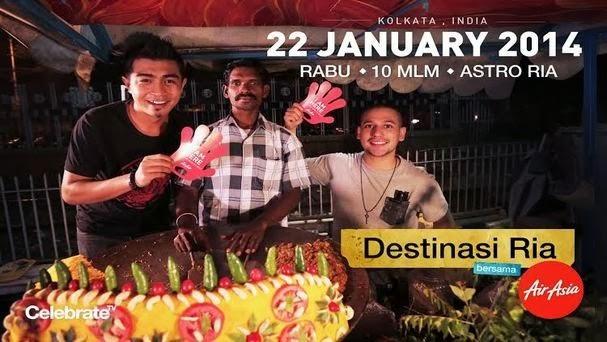 Destinasi Ria Bersama Air Asia Tampil Kelainan