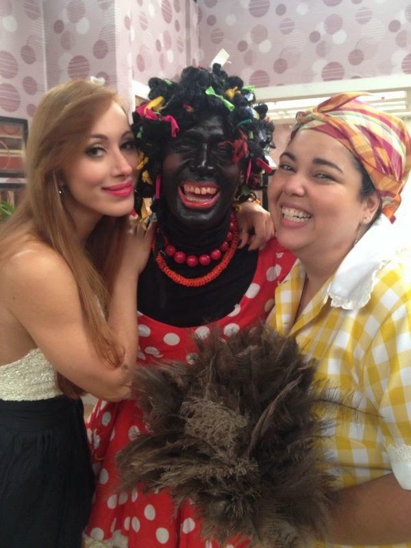 Ex-BBB Aline faz mais uma participação em 'Zorra total'