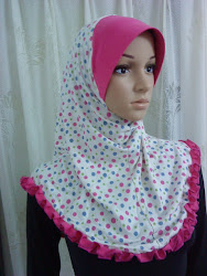 Tudung Polkadot Cotton