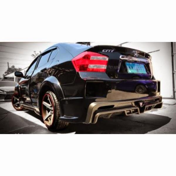 Full Bumper Honda City 09-13 Mugen RR CRZ Style