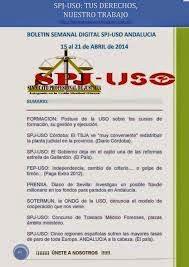 Boletines informativos SPJ-USO