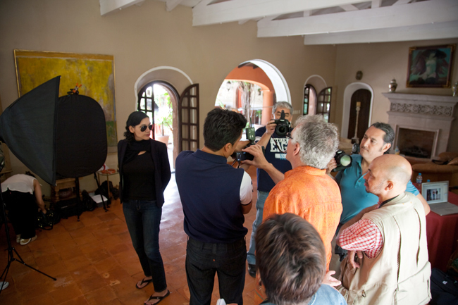Curso de fotografía,Exploring the light,Rick Sammon,Cursos de fotografía México D.F.,studio lighting, San Miguel de Allende