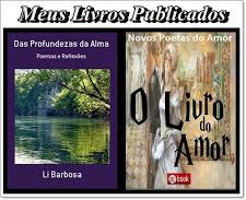 Dois  belos Livros da  amiga  Li Barbosa