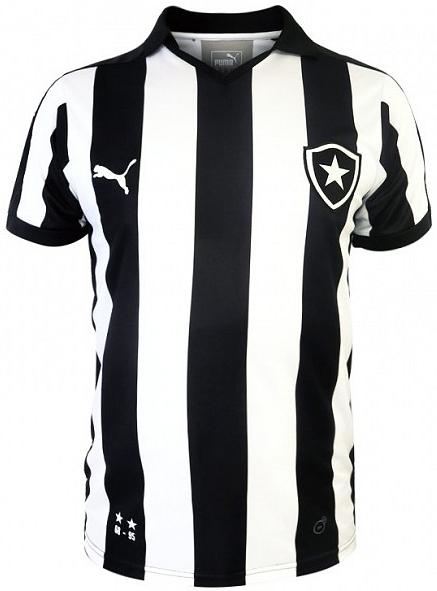 Puma lança novas camisas do Botafogo - Show de Camisas 89afbd7ffdde1