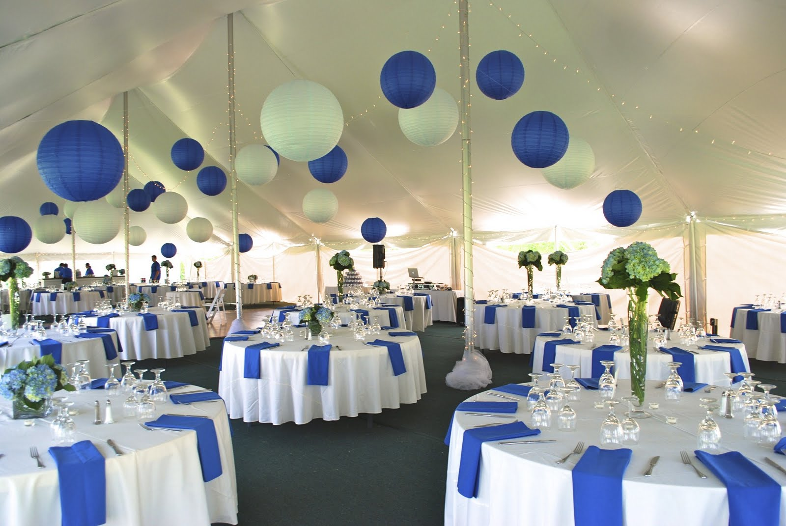 New Fusion Events: Shades of Blue: A Vineyard Wedding