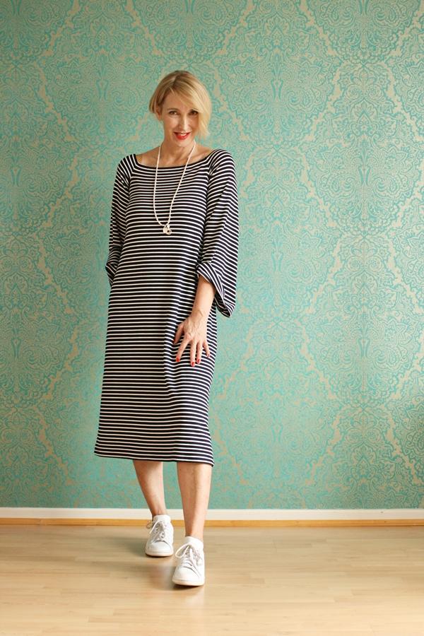 Langes Ringelkleid aus der Maja Wyh Collection Teil 2 + die Filabé Gewinnerin