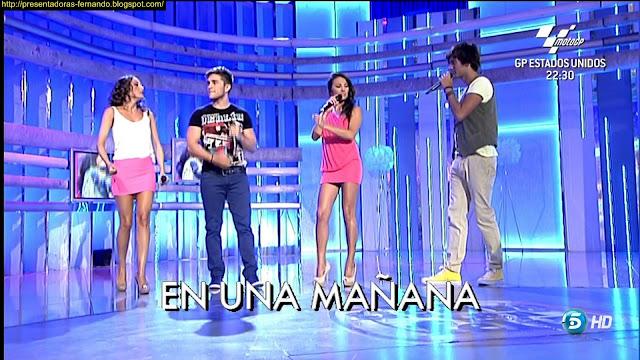 Mercedes Duran & Anabel Dueñas piernas