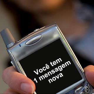 sms no celular
