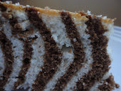 Zebra Cake