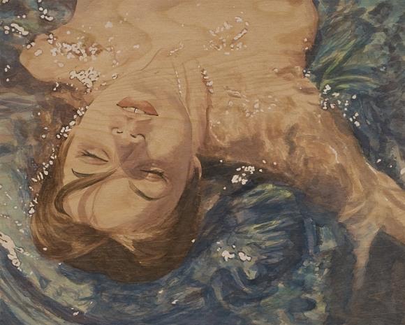 suzannah sinclair mulheres pintura madeira erótica sensual
