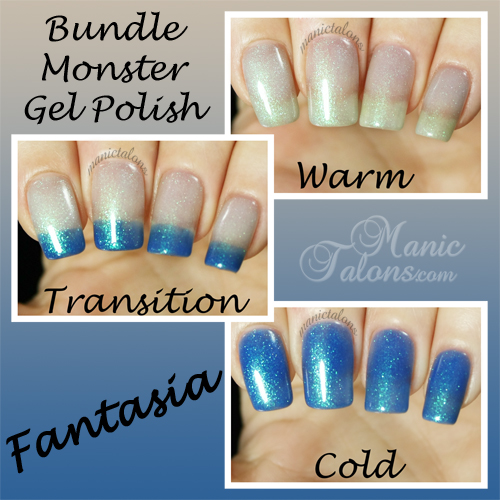 Bundle Monster Gel Polish Fantasia Swatch - BMC Awakening Collection