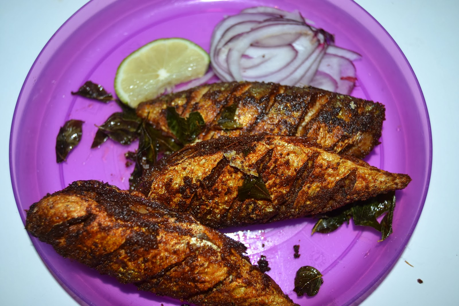 indian mackerel but aila fish fry by vahchef mackerel fish fry is so ...