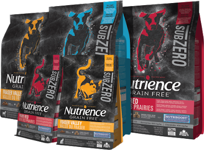 Nutrience Sub Zero Pet Food product shots