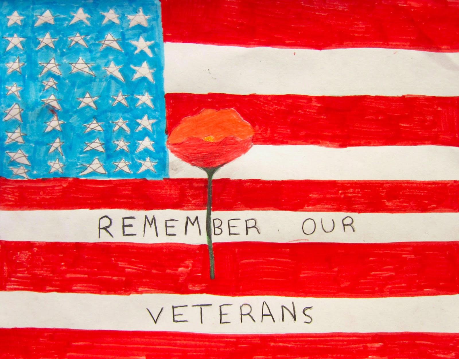 Art is Basic-- Art Teacher Blog: Veteran's Day Poppy Posters