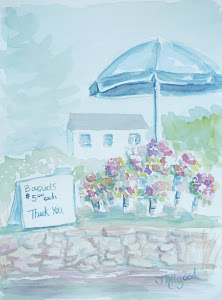 Honesty Flower Stand