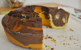 Torta Bicolore Bimby