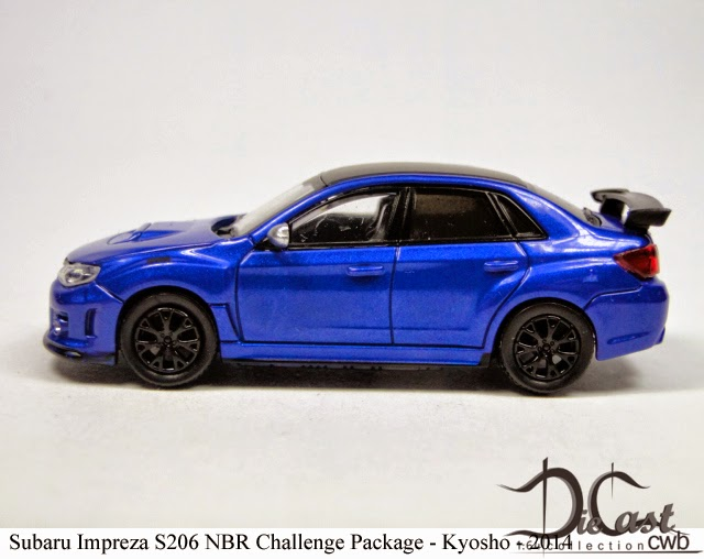 Diecast Cwb 1 64 Collection Subaru Impreza S206 Nbr Challenge Package