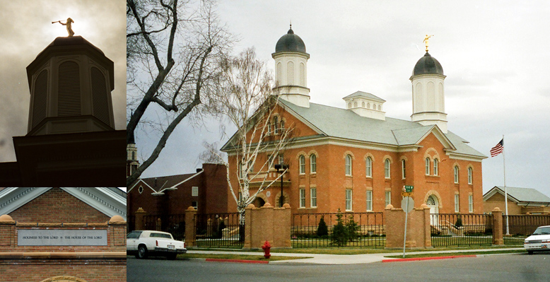 Vernal Utah Temple, March 3, 1999