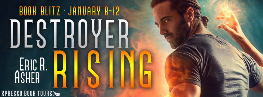 3 signed copies of Destroyer Rising