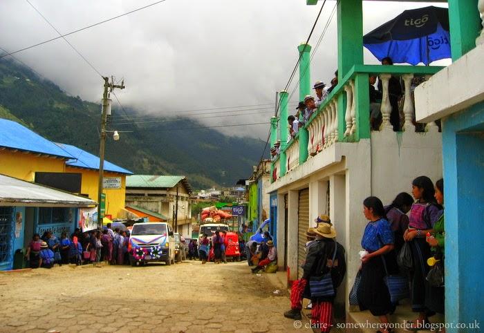main street - Todos Santos, Guatemala
