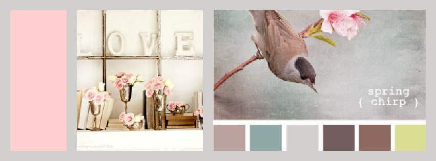 Inspiratie blumzdesign poederkleuren - Hoe roze verf ...