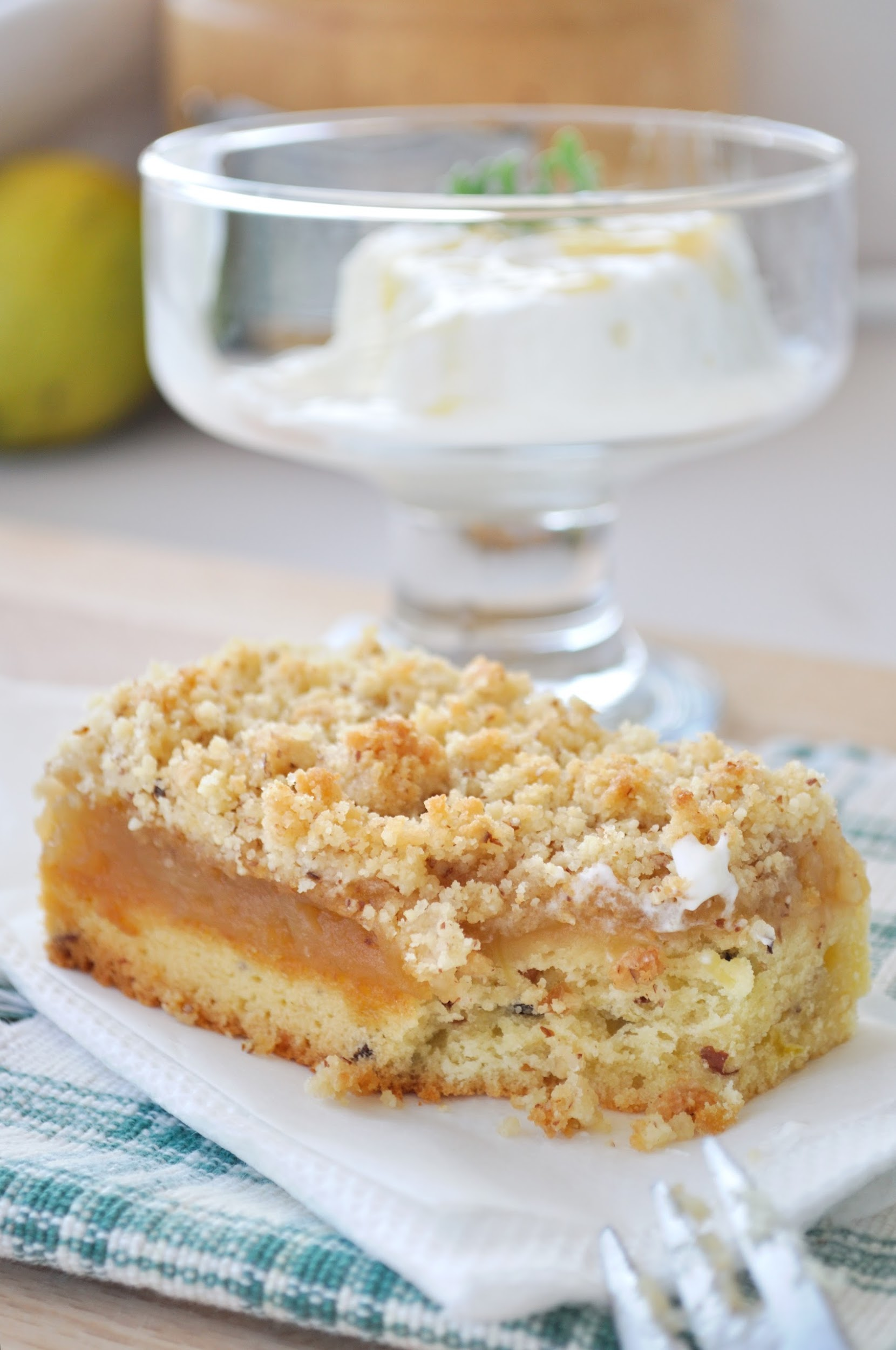 apple and lemon bars