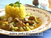 Bravčové kocky so zeleninou - recept