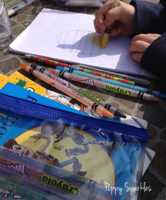 Twistables - no sharpen pencils! Great for keeping kids entertained whilst out and about1 #kids #drawing #parenting