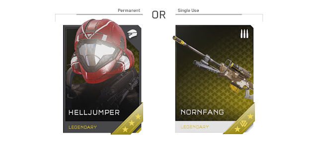 Halo 5: Guardians REQ Cards