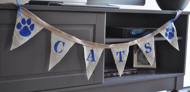 university of kentucky game day bunting
