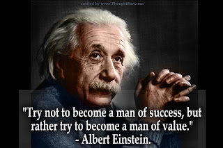 Albert Einstein quotes, success, success is my right