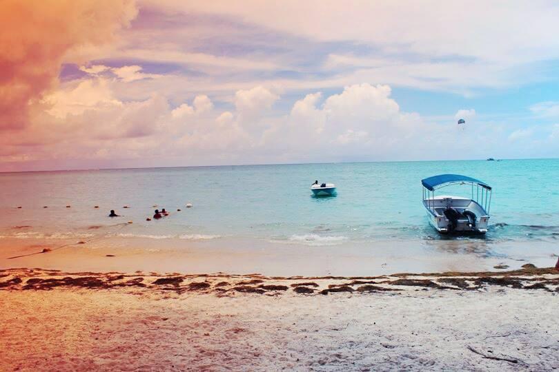 Mont Choisy Beach, Grand Baie, Mauritius