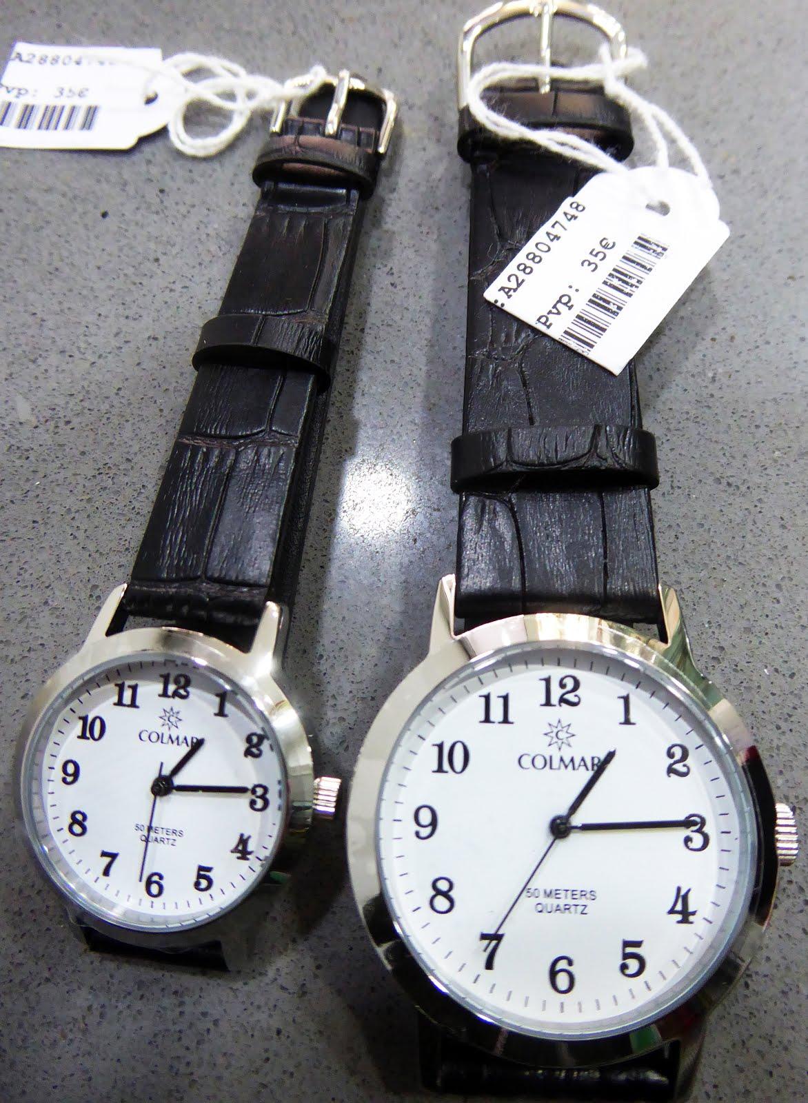 Relojes Clásicos, números grandes