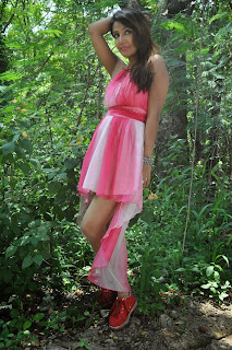 Sonia Manna Spicy Short Beautiful Pink Dress Stunning Beauty Must See Pics