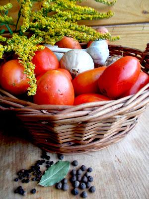 pomidory na zime - smaki prowincji