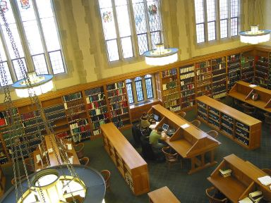 law school reading room