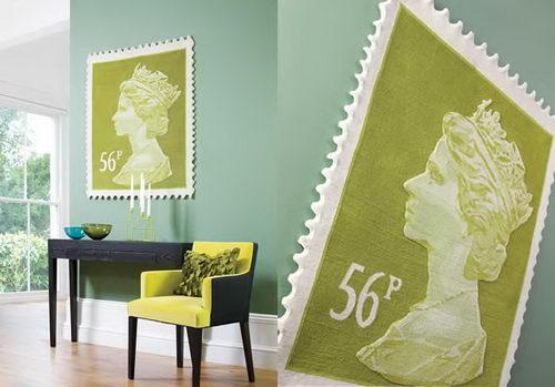 Stamp Rug Design 56p