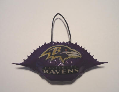 Baltimore Ravens Team Ornament