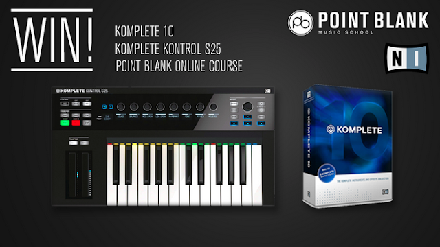 CREATE A TRACK & WIN A MUSIC PRODUCER BUNDLE& ONLINE COURSE WORTH OVER $2,000!
