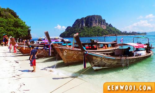 krabi island tour tup island