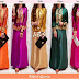 Gamis Songket India Kombi Satin Silk SOLD OUT