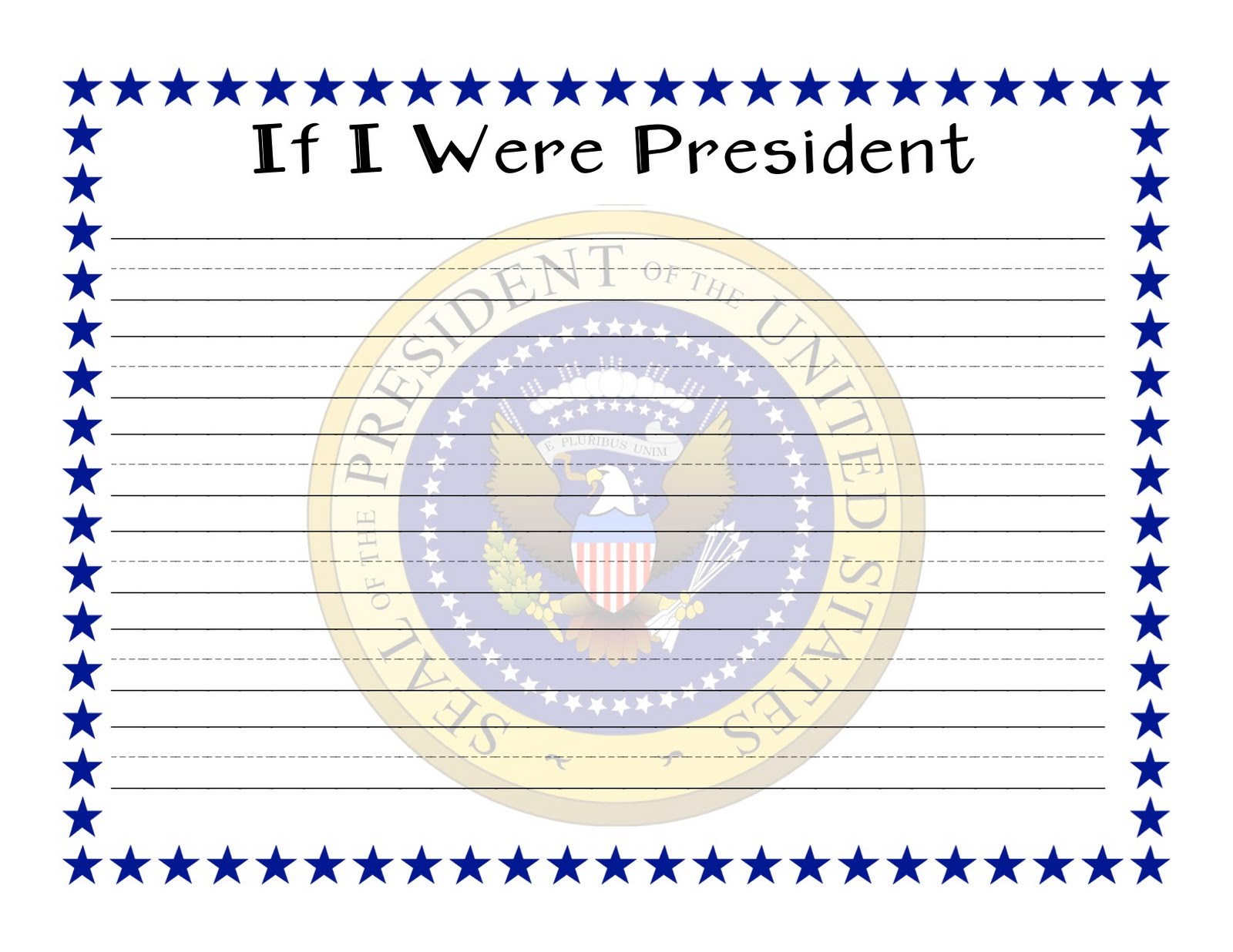 If i were president essay