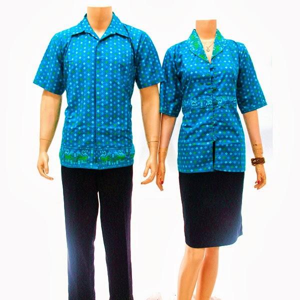 SR725 Grosir Baju Batik pasangan/Couple 2014