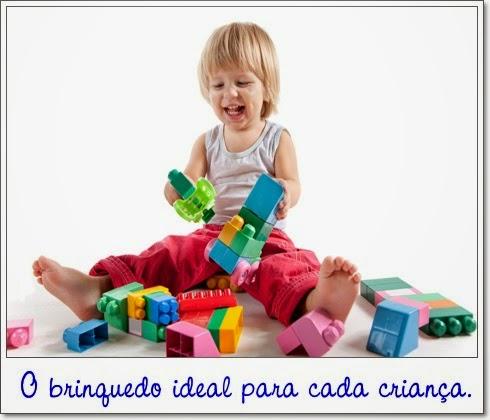 Classificação do brinquedo pela faixa etária