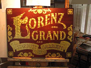 gold leaf sign
