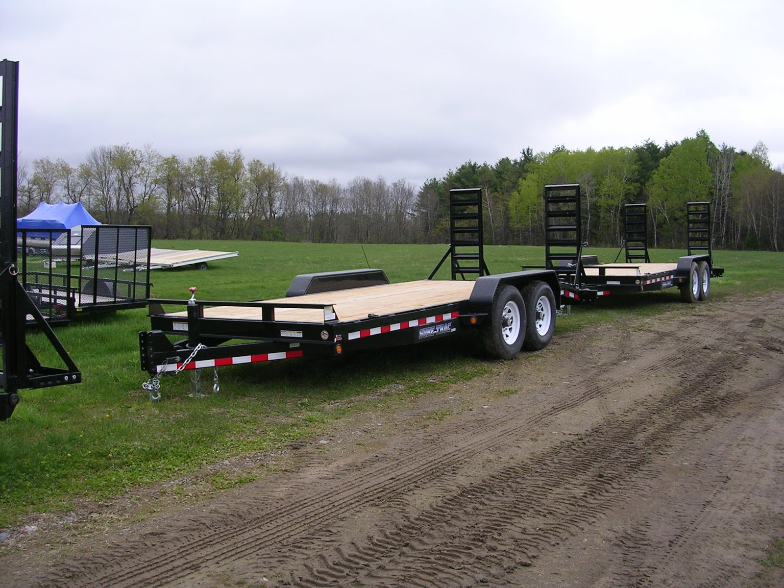 Michaud39s Trailers Winslow Maine Sure Trac Equipment Trailers