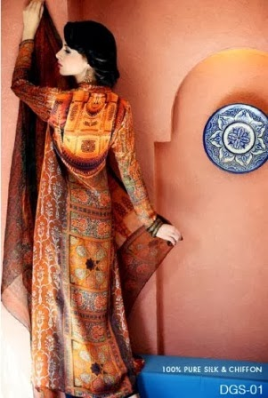 Latest Gul Ahmed Silk Collection